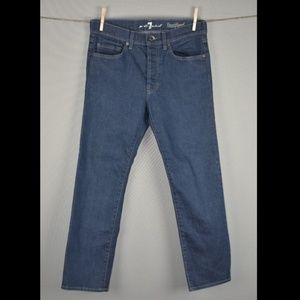 7 For All Mankind Floyd Flood Slim Ankle Jeans